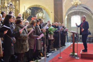 La chorale du pôle missionnaire de Fontainebleau